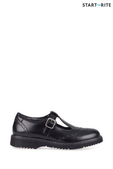 Start-Rite Black Leather Imagine Shoes