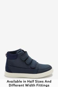 Older Boys Touch Strap Fastening Boots