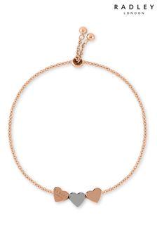 Radley Plated Love Heart Bracelet