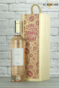 Love Every Moment Chapelle Provence Rose Wine Gift by Le Bon Vin