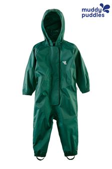 Muddy Puddles Green Originals Waterproof Breathable Puddlesuit