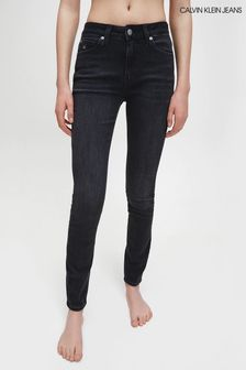 Calvin Klein Jeans Black Ckj 011 Mid Rise Skinny Jeans