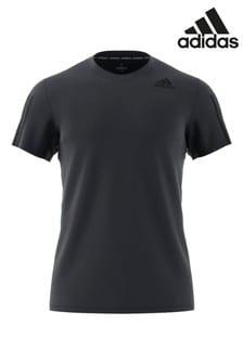 adidas Train Aero 3 Stripe T-Shirt
