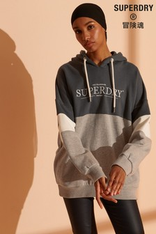 Superdry NYC Times Colourblock Hoodie
