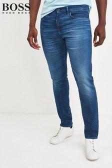 BOSS Blue Charleston Slim Fit Jeans