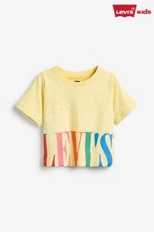 Levi's® Kids Yellow Varsity High Rise Top