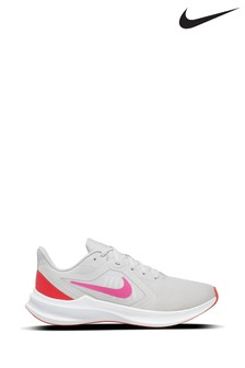 Nike Run Grey/Pink Downshifter 10 Trainers