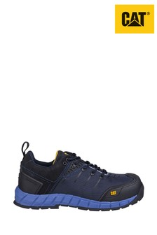 CAT Black Byway Lace-Up Safety Trainers