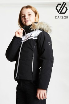 Dare 2b Black Estimate Waterproof Ski Jacket