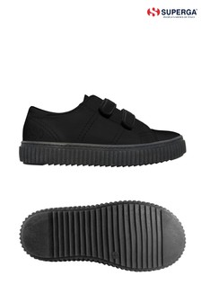 Superga® Girls 4869 Synthetic Leather Trainers