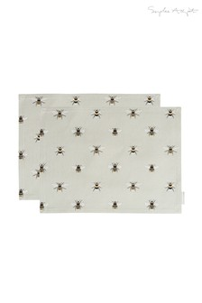 Set of 2 Sophie Allport Bees Placemats