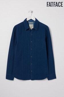 FatFace Blue Doubles Spot Shirt