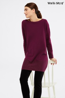 White Stuff Purple Merrily Tunic