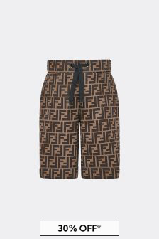 Boys Brown Shorts