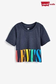 Levi's® Kids Navy Varsity High Rise Top