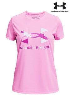 Under Armour Girls Tech Sportstyle T-Shirt