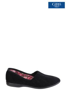 GBS Black Audrey Slippers
