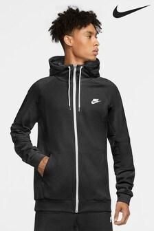 Nike Logo Fleece Zip Through Hoody