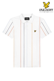 Lyle & Scott Vertical Stripe Poloshirt
