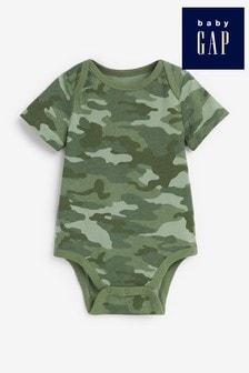 Gap Baby Camouflage Print Bodysuit