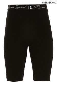 River Island Black Cycling Shorts