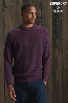 Superdry Keystone Crew Knitted Jumper