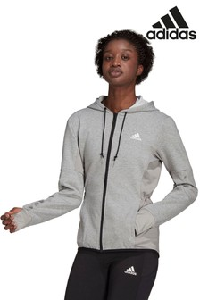 adidas Train Motion Zip Through Hoodie