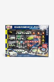 Zuru Fresh Metal Emergency Force Playset Includes Playmat