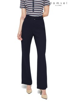 Damsel In A Dress Blue Lydia Straight City Suit Trouser