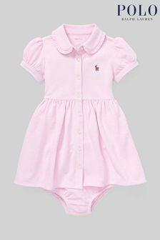 Ralph Lauren Pink Oxford Shirt Dress