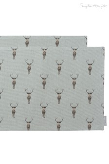 Set of 2 Sophie Allport Highland Stag Placemats