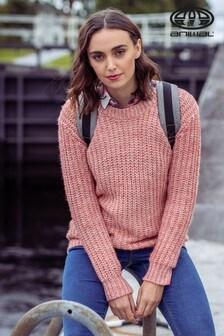 סוודר סרוג של Animal Rose Dust דגם Lilly Sue בוורוד מאובק
