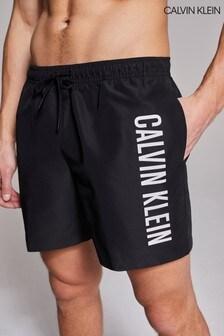 Calvin Klein Black Intense Power Swim Drawstring Shorts