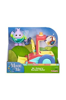 Moon and Me Mr. Onions Bumper Roller Vehicle And Figure Set