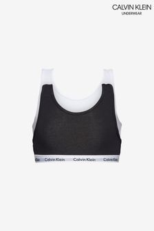 Calvin Klein Girls Modern Cotton Bralette Two Pack