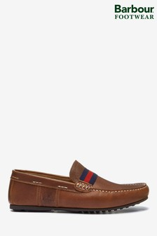 Barbour® Cognac Mansell Boat Shoes