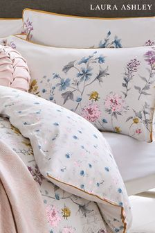 Set of 2 Laura Ashley Wild Meadow Pillowcases
