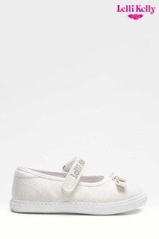 Lelli Kelly White Mary Jane Shoes