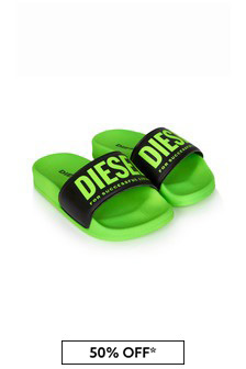 Diesel® Boys Green Sandals