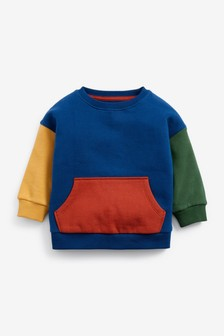 Hotchpotch Crew Sweatshirt (3mths-7yrs)