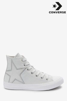 Converse Suede Patch High Trainers