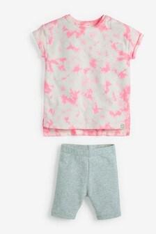 Tie Dye T-Shirt And Shorts Set (3mths-7yrs)