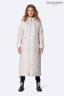 Ilse Jacobsen Cream Padded Coat