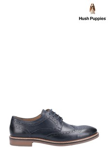 Hush Puppies Blue Bryson Shoes