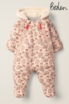 Boden Pink Cosy All-In-One