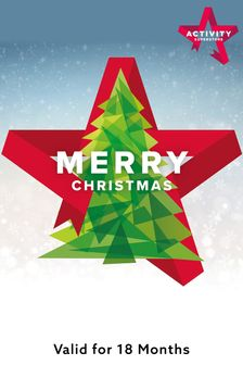 Merry Christmas Gift Experience by Activity Superstore