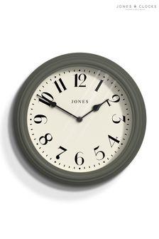 Jones Clocks Venetian Moss Green Wall Clock