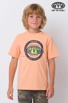 Animal Orange Escape Graphic T-Shirt