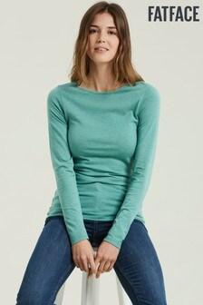 FatFace Green Tasha T-Shirt