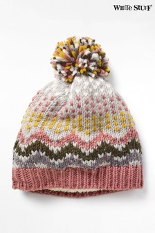 White Stuff Grey Laurel Chunky Hat